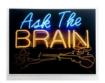 "Fine Art Photography ""Ask The Brain"" Archival Print"