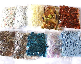 Glitter sequins lot sewing