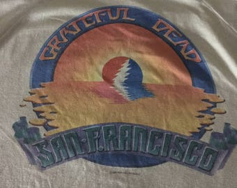 Vintage Grateful Dead 1983 Spring Tour San Francisco