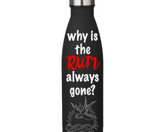 Pirates Rum Water Bottle