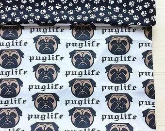 Cushion Cover - Pug Life
