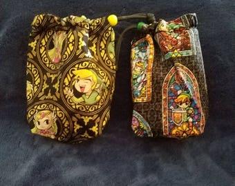 Nintendo Mario/Donkey Kong/Pokemon/Zelda Fabric Dice Bags Small Drawstring Bag