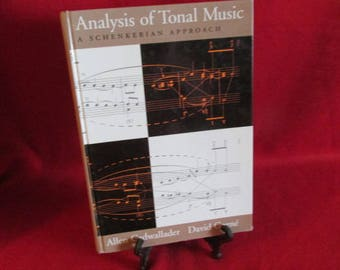 "Hardcover ""Analysis of Tonal Music"" A Schenkerian Approach"