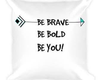 Tribal Arrow Motivational Pillow