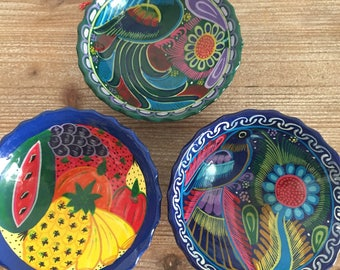 Mexican Pottery Bowl Etsy