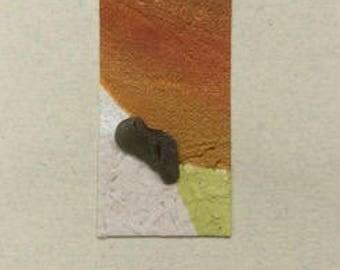 """Mini artwork"" greeting card individually"