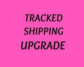 Rush my order with tracked shipping.  US and Canada only
