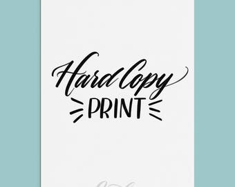 Hard Copy Print