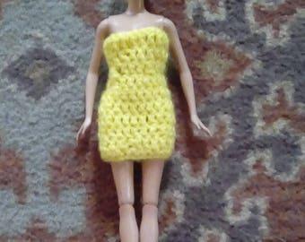 Crocheted Barbie Dress