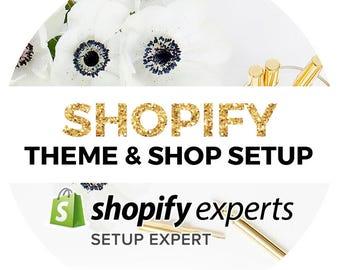 Shopify Theme & Shop Setup | Shopify Design | Shopify Template