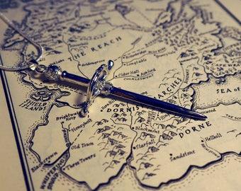 Arya Stark's sword, Needle Pendant