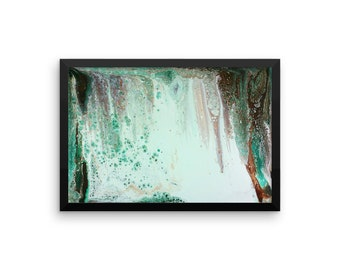 Framed Print: Before the Waterfall; multiple sizes