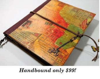 Custom Guest Book, Altered Books, Smashbook, Junk Journal, Handbound Journal, Personalized Journal, Handmade Journal, Wedding Guestbook