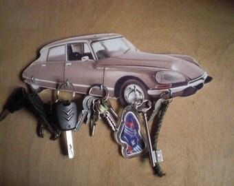 Citroen ds 23 pallas hook key/DS 23 PALLAS Keychain, Hang on wall keys