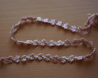 1.50 meters trim 10mm light pink REF 1835