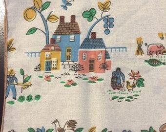 Cute Farmhouse Napkins Set of 4