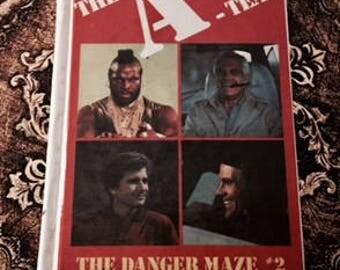 The Written Word:  The A Team #2-The Danger Maze