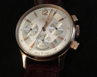 Buran Russian Chronograph Watch