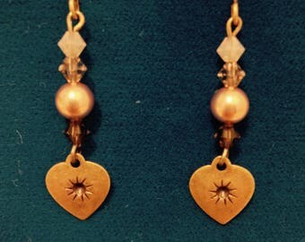 A Beautiful Heart Dangle Earrings