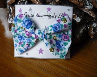 Flower bow Barrette