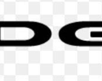 Dodge vinyl decal Car Truck Laptop Free Shipping!