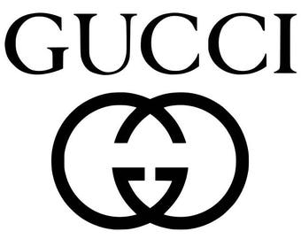 Gucci svg, gucci logo svg, svg, dxf, instant dowload
