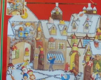 Christmas Snip 'n Stuff Advent Calendar Kit