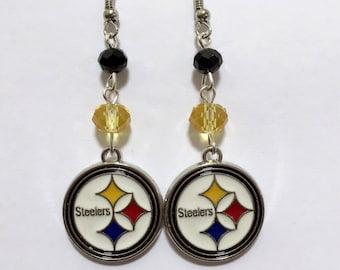 Pittsburgh Steelers Dangle Earrings