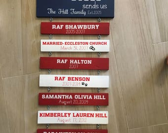Military duty station sign. Home is where the army/navy/marines sends us - wood sign. Military decor, military signs
