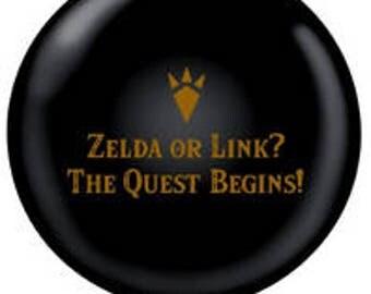 Zelda Gender Reveal Balloon | Gender Reveal Party Decorations | Zelda Party