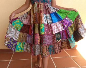 Exclusive dresses for girls from 6 to 18 years. And 110 to 155 cm height. 100% handmade natural silk... EXCLUSIVE