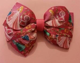 4 inch Sleeping Beauty bow