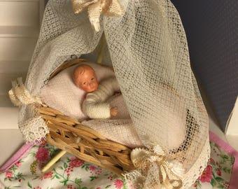 Caco Baby Dollhouse Doll