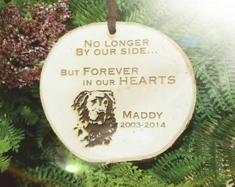 Forever In Our Hearts - Pet Loss Ornament - Remembrance