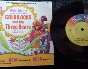 Walt Disney's The Story of Goldilocks and the Three Bears. 1967