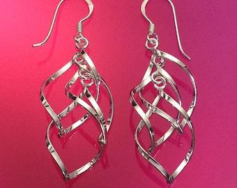 Wind chime earrings | Etsy