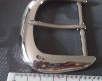 width 6 cm from new silver metal belt buckle