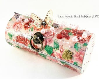 Scrapbooking Cylindrical Case