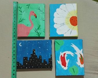 Miniature paintings for Pullip/bjd