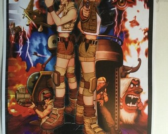 Sale on NOW Neo geo aes metal slug 3  game Poster Print In A3 #retrogaming please read description