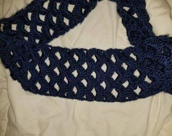 Infinity Crochet Scarf