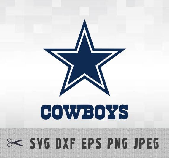 Dallas Cowboys Svg Png Dxf Logo Vector Cut File Silhouette
