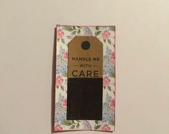 Handle with care artcard