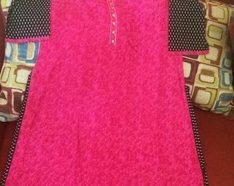 Indian Kurta Kurti bollywood Traditional Wear Tunic