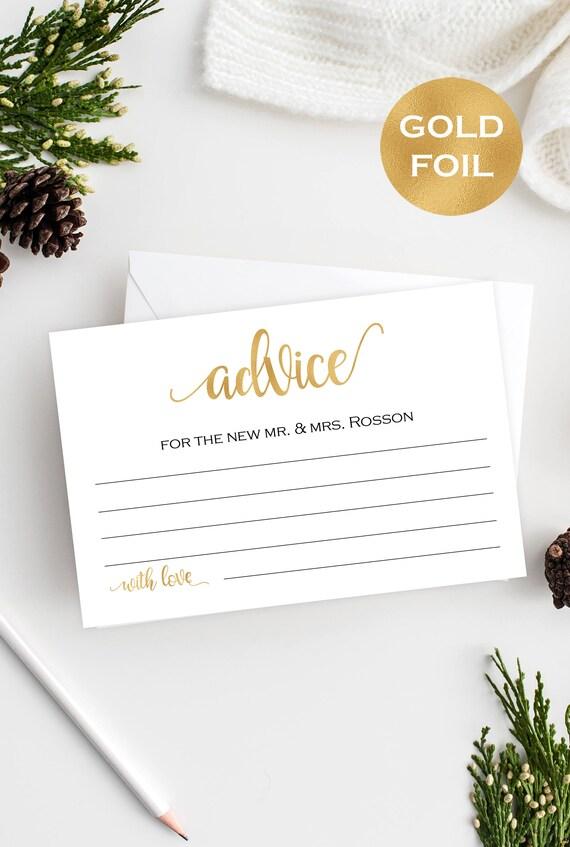 wedding advice cards uk