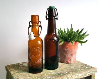 Old glass beer bottle(s)