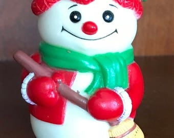 1991  BEE Snowman Toy