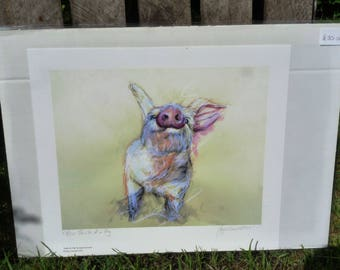 Smile of a Pig Giclee Print