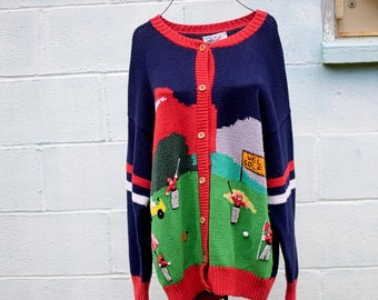Handmade Golf Sweater