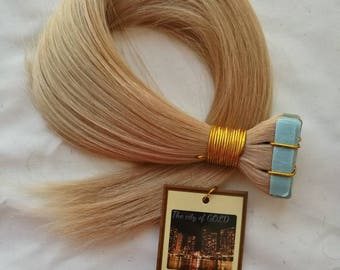Tape Virgin Straight Hair